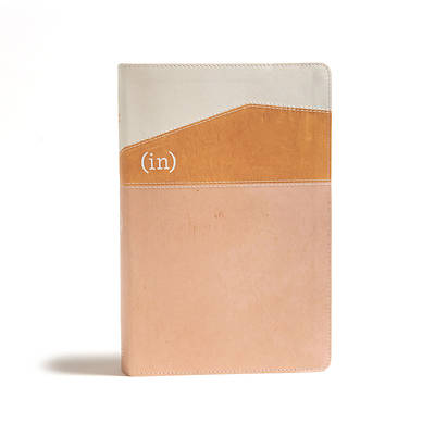 Picture of CSB (In)Courage Devotional Bible, Desert/Mustard/Alabaster Leathertouch