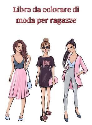 Picture of Libro da colorare di moda per ragazze