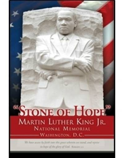 Black History Bulletin Martin Luther King Jr. National Memorial Regular (Package of 100)