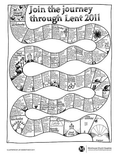 2011  Lenten Journey Poster (Package of 25)