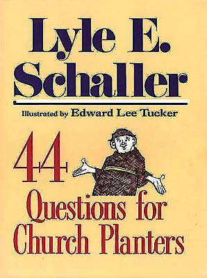 Picture of 44 Questions for Church Planters