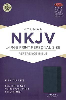 Picture of Large Print Personal Size Reference Bible-NKJV