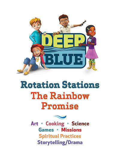 Picture of Deep Blue Rotation Stations: The Rainbow Promise - Entire Unit Download