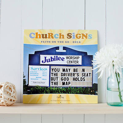 Church Signs 2014 Wall Calendar