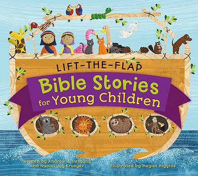 Picture of Lift-The-Flap Surprise Bible Stories