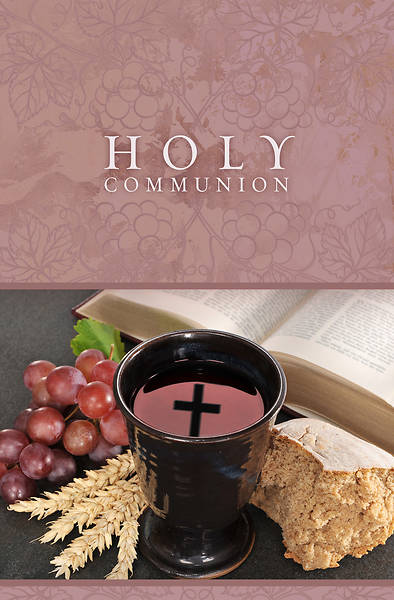 Holy Communion Regular Size Bulletin