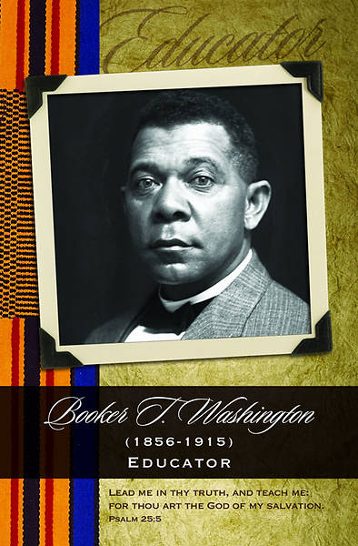Black History/Booker T. Washington Bulletin, Regular (Package of 100)