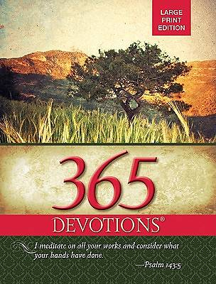 Picture of 365 Devotions Large Print Edition-2012