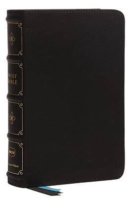 Picture of Nkjv, Compact Bible, MacLaren Series, Leathersoft, Black, Comfort Print