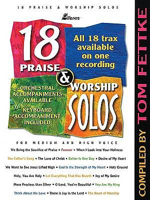 18 Praise and Worship Solos Book