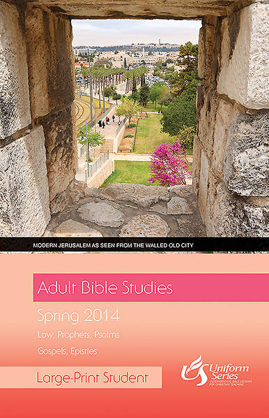 Adult Bible Studies Spring 2014 Student - Large Print