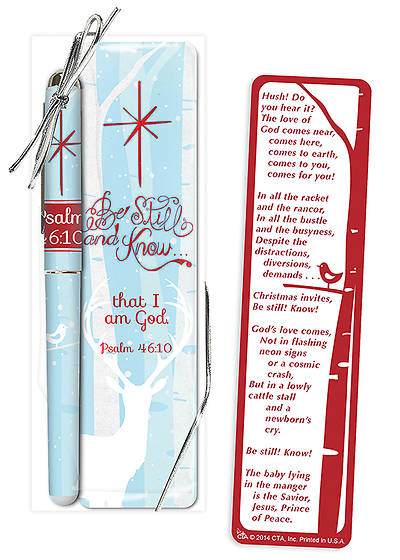 Be Still and Know Pen & Bookmark Set