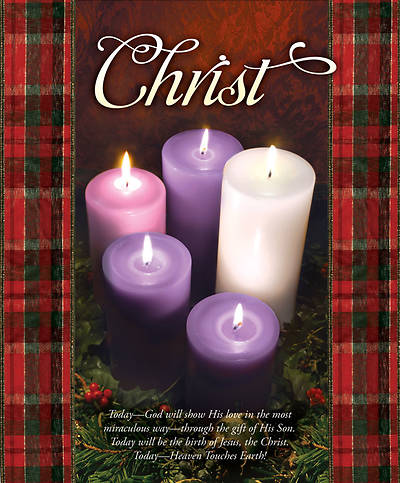 Advent Week 5/Christ Bulletin, Large (Package of 100)