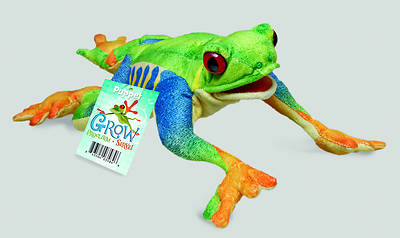 Grow, Proclaim, Serve! Green Tree Frog Puppet