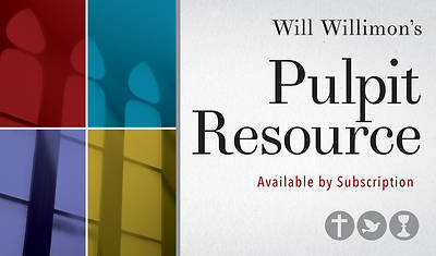 Pulpit Resource/Abingdon Preaching Annual Digital Subscription