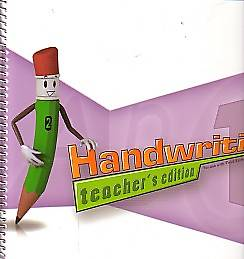 Picture of Handwriting Teacher Book Grd 1 3rd Edition