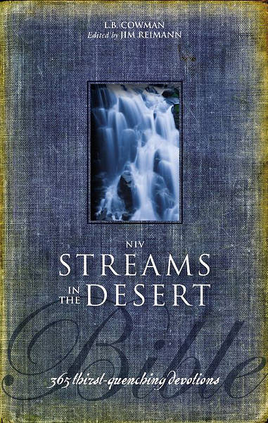 NIV Streams in the Desert Bible Hardcover