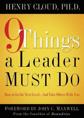 Picture of 9 Things a Leader Must Do