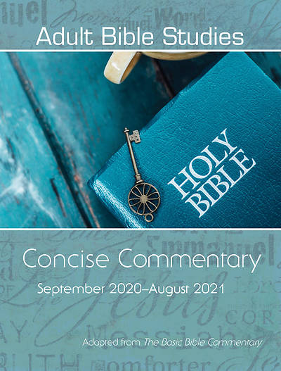 Picture of Adult Bible Studies Concise Commentary September 2020-August 2021