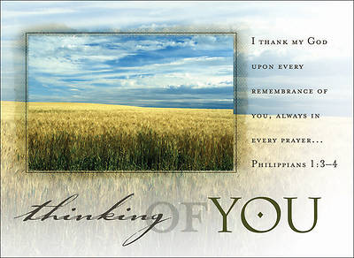 Thinking of You Field Postcard - Pack of 25