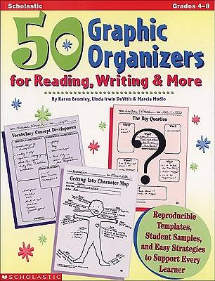 Picture of 50 Graphic Organizers for Reading, Writing and More