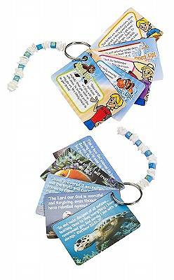 Gospel Light Vacation Bible School 2011 Son Surf Beach Bash Keychain (Package of 5)
