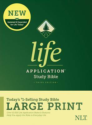 NLT Life Application Study Bible, Third Edition, Large Print (Hardcover)