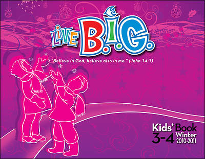 Picture of Live B.I.G. Ages 3-4 Kids' Book Winter 2010-11