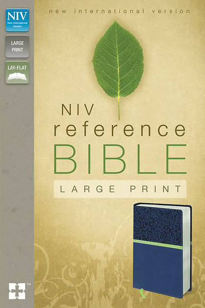NIV Reference Bible, Large Print