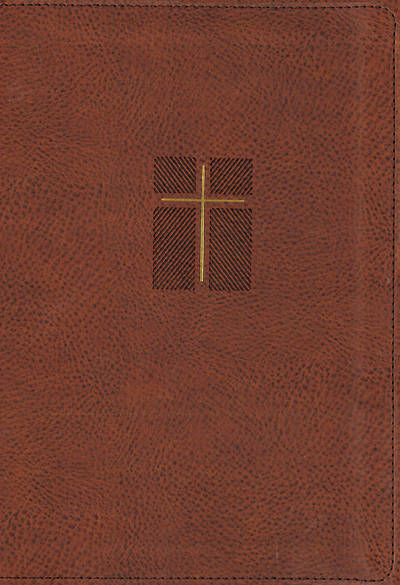 Picture of NIV, Quest Study Bible, Leathersoft, Brown, Comfort Print