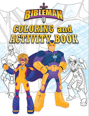 Picture of Bibleman Coloring and Activity Book