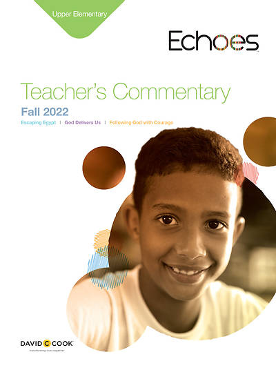 Picture of Echoes Upper Elementary Teacher Commentary Fall