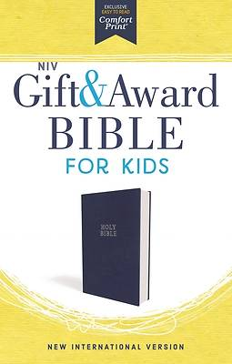 Picture of NIV Gift and Award Bible for Kids, Imitation Leather, Blue, Comfort Print