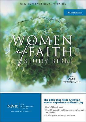 Bible New International Version Women of Faith Womens Study Bible