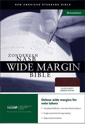 Wide Margin Bible-NASB