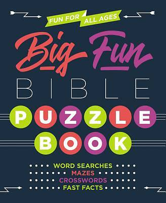 Picture of Big Fun Bible Puzzle Book