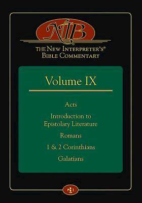The New Interpreters® Bible Commentary Volume IX