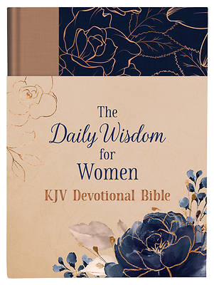 Picture of The Daily Wisdom for Women KJV Devotional Bible