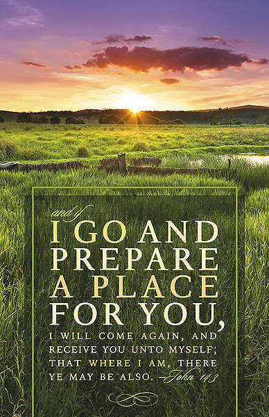 I Will Come Again Funeral Bulletin Package of 100