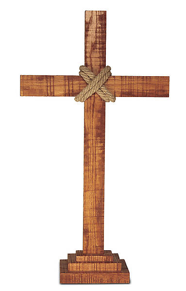 Old Rugged Altar Set - Cross
