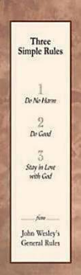 Three Simple Rules Bookmark (Pkg of 25)