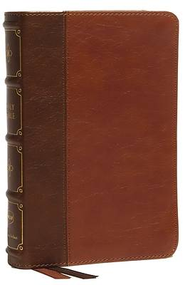 Picture of Nkjv, Compact Bible, MacLaren Series, Leathersoft, Brown, Comfort Print