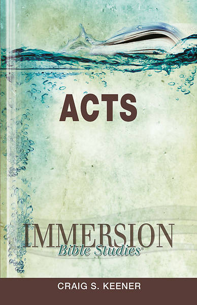 Picture of Immersion Bible Studies: Acts