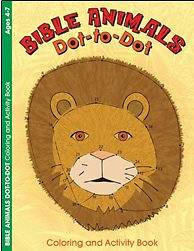 Bible Animals Dot-To-Dot Activity Book