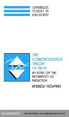 The Correspondence Theory of Truth [Adobe Ebook]