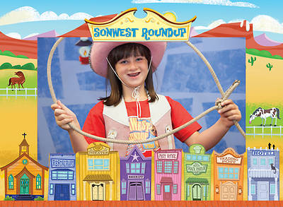 Gospel Light Vacation Bible School 2013 SonWest RoundUp Photo Frame (pkg12)