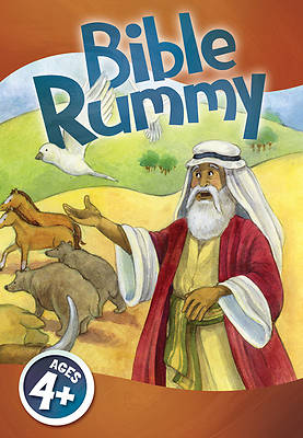 Picture of Bible Rummy Jumbo Card Game