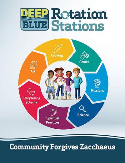 Picture of Deep Blue Rotation Stations: Community Forgives Zacchaeus - Entire Unit Download
