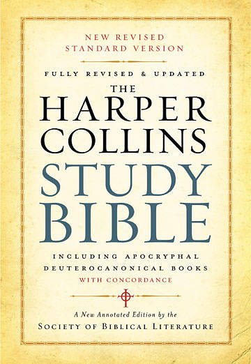 Picture of The HarperCollins Study Bible New Revised Standard Version