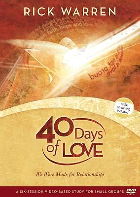 40 Days of Love DVD